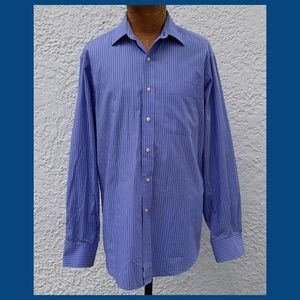 Tommy Hilfiger Striped Button Front Shirt